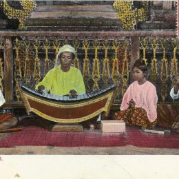 Burmese Band - Postcard by A.D. Ahuja