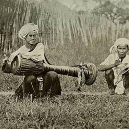 Shan Band, Burma 1910